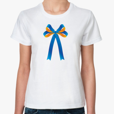 Классическая футболка   Бантик