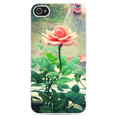 Чехол для iPhone Rose