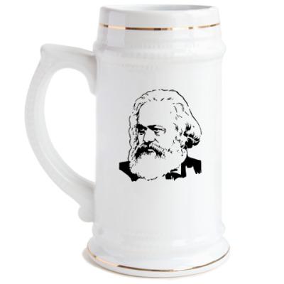 Пивная кружка Карл Маркс