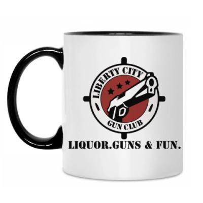 Кружка Grand Theft Auto - Gun Club