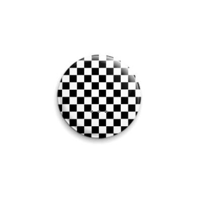 Значок 25мм SKA шашка