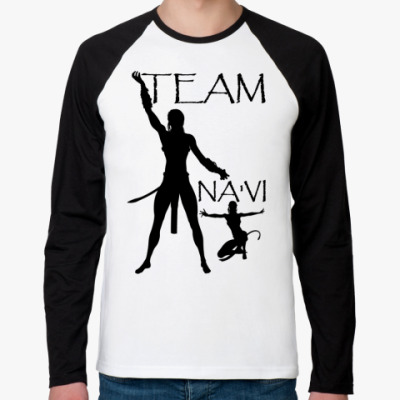 Футболка реглан с длинным рукавом Team Na'vi