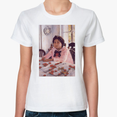 Классическая футболка Девочка без персиков