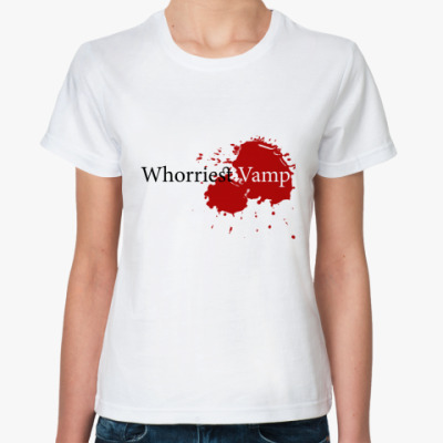 Классическая футболка Whorriest Vamp