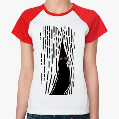 Женская футболка реглан Нечто Сверхъестественное