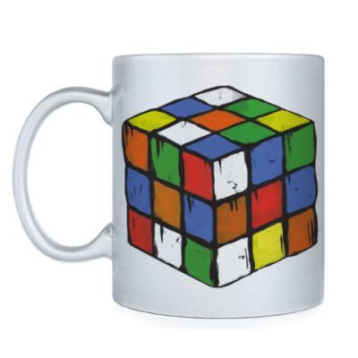 Кружка Кубик Рубика   Rubiks Cube