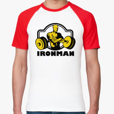 Футболка реглан Ironman