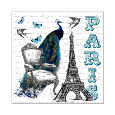 Наклейка (стикер) PARIS