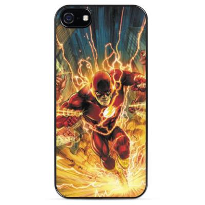 Чехол для iPhone Человек Молния