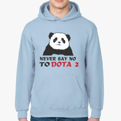 Толстовка худи Never say no to dota