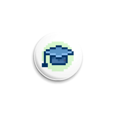 Значок 25мм  ICQ Статус #16