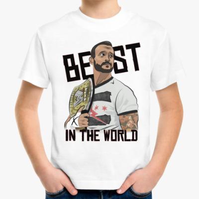 Детская футболка футболка CM Punk