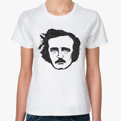 Классическая футболка Эдгар По