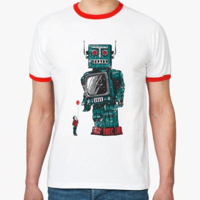 Футболка Ringer-T Робот