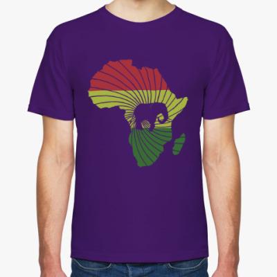 Футболка Африканский слон