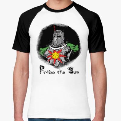 Футболка реглан Praise the sun