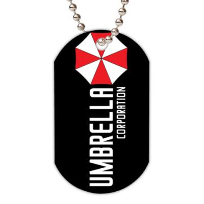 Жетон dog-tag Umbrella corporation