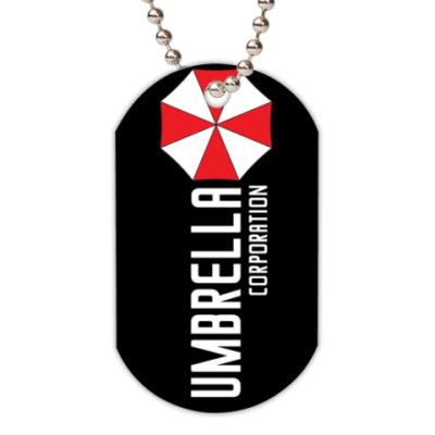 Жетон dog-tag Umbrella corporation
