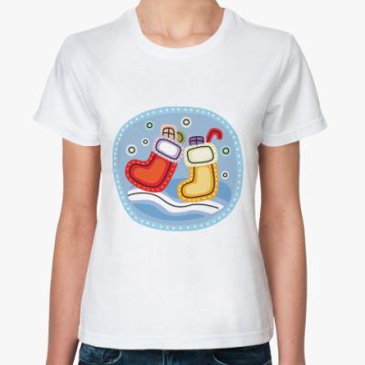 Классическая футболка сапожки