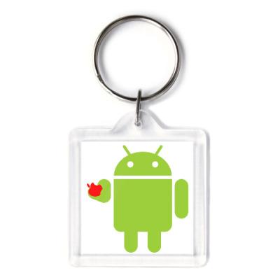 Андроид с яблоком