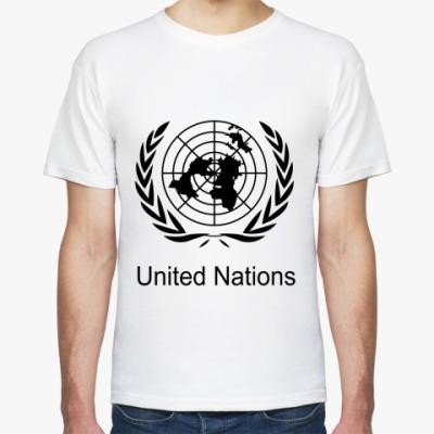 Футболка ООН
