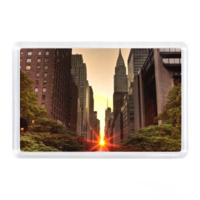 Магнит Manhattan, usa