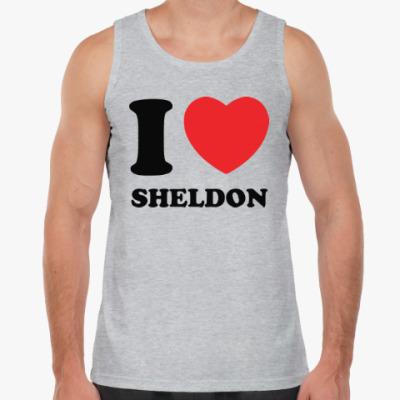 Майка I Love Sheldon