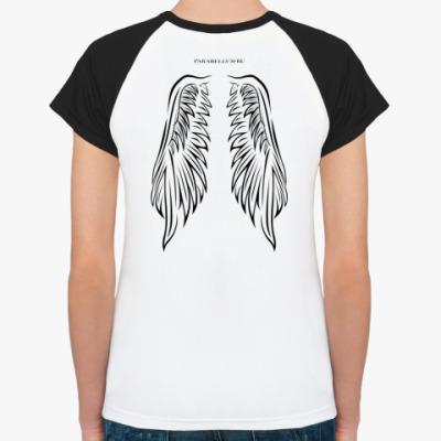 Женская футболка реглан para bellvm