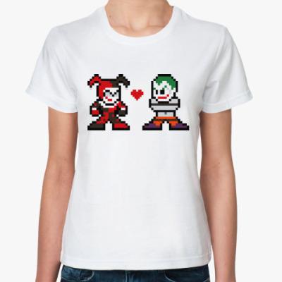 Классическая футболка Джокер и Харли Квинн