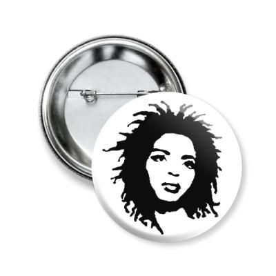 Значок 50мм Lauryn Hill
