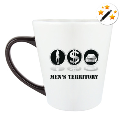 Кружка-хамелеон Men's territory