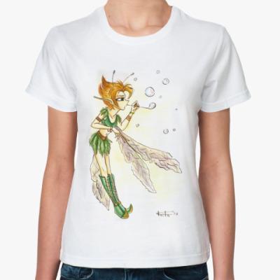 Классическая футболка  Elfen Bubbles