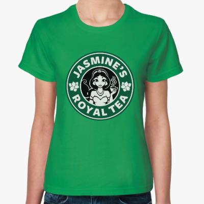 Женская футболка Жасминовый чай