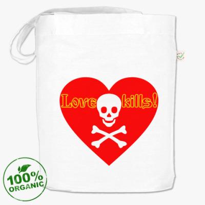 Сумка Love kills!