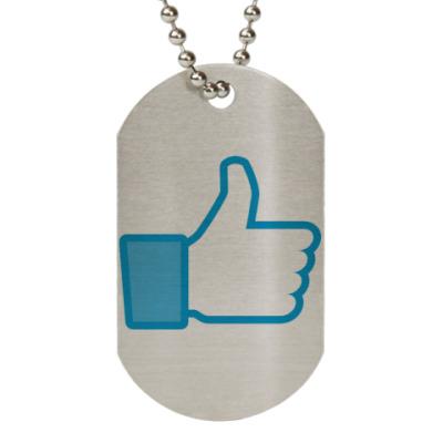 Жетон dog-tag Like