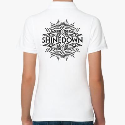 Женская рубашка поло Shinedown