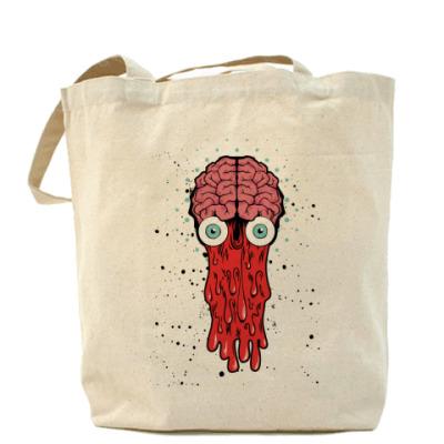 Сумка Холщовая сумка Brain