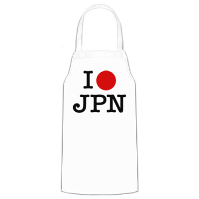 Фартук I love Japan