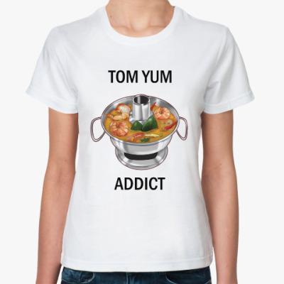 Классическая футболка Суп Том ям - самый вкусный символ Таиланда!