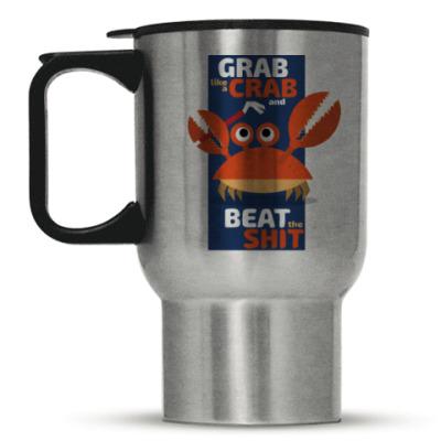 Кружка-термос Grab like a crab