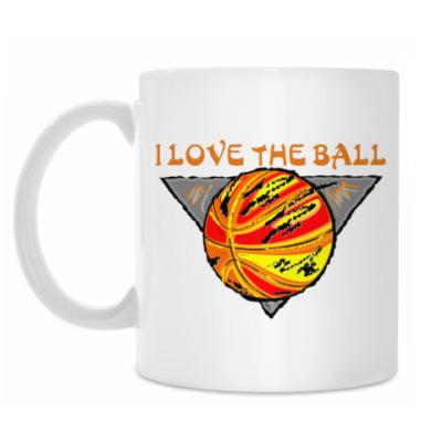 Кружка I Love The Ball