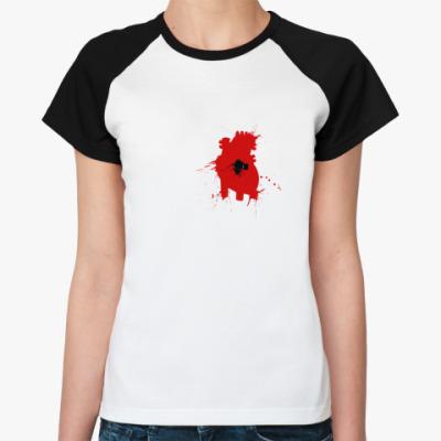 Женская футболка реглан Несчастная любовь