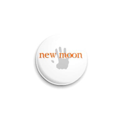 Значок 25мм new moon