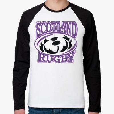 Футболка реглан с длинным рукавом Регби Шотландия