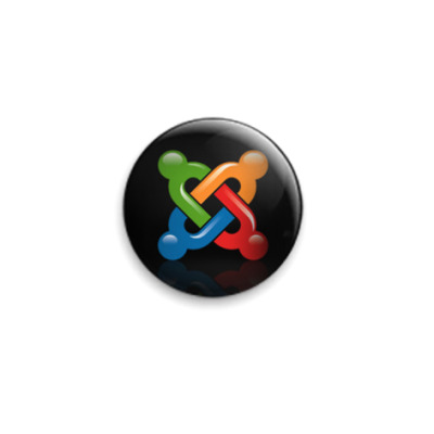 Значок 25мм  - Joomla! Logo