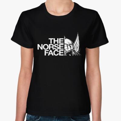 Женская футболка Тор