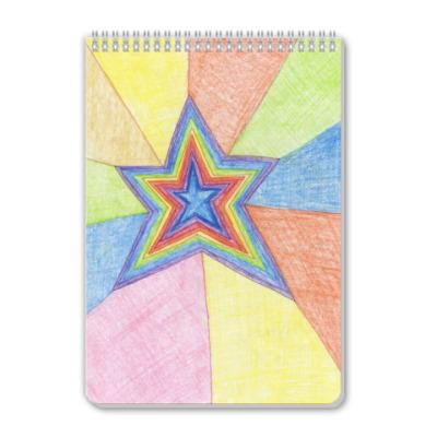Блокнот 'Звезда'