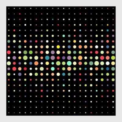 Постер Разноцветные круги