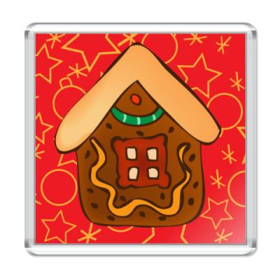 Магнит Рождественское печенье