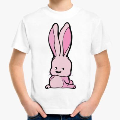 Детская футболка Зайка